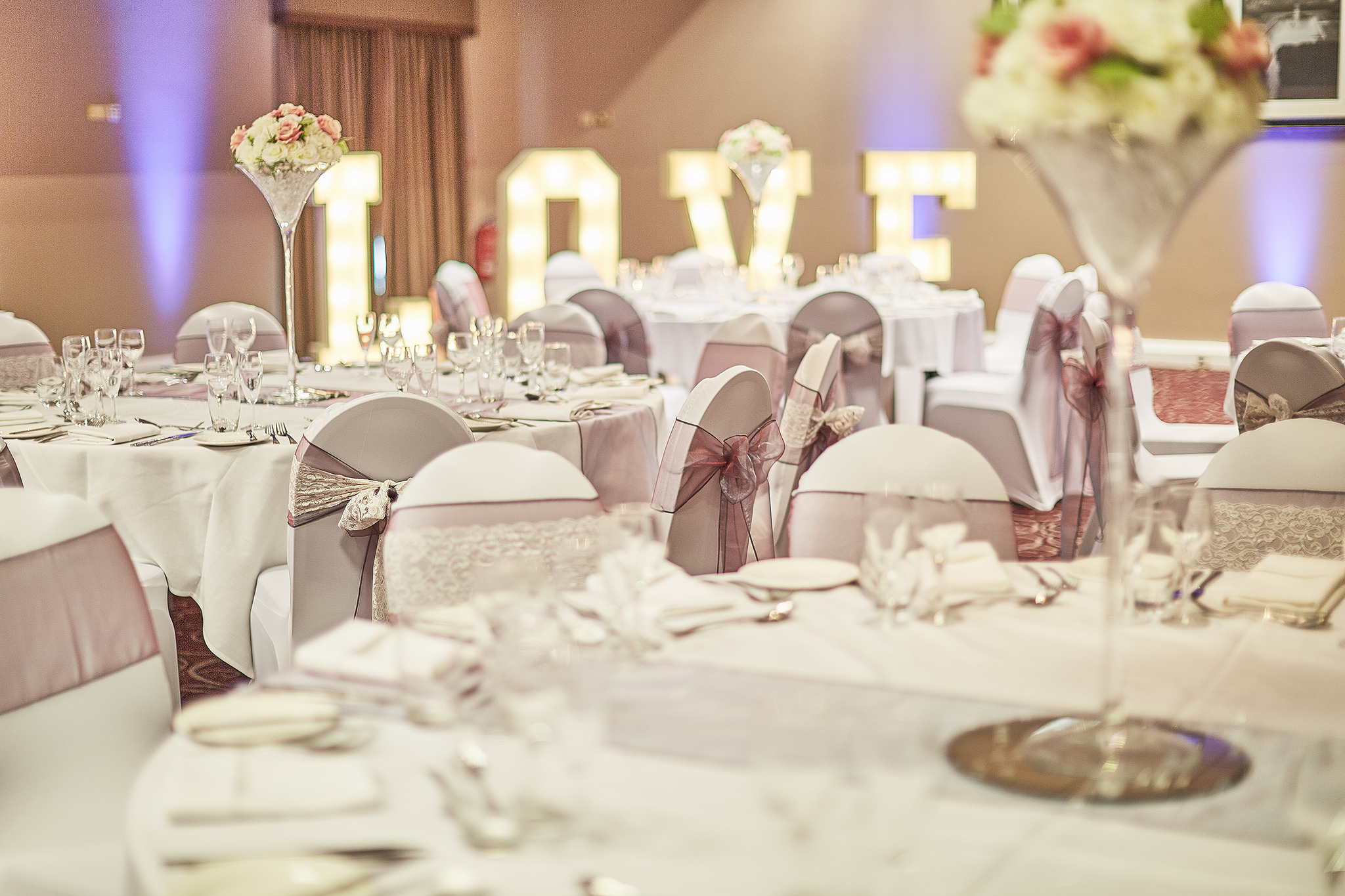 Eastwood Hall catering and wedding venue Nottingham
