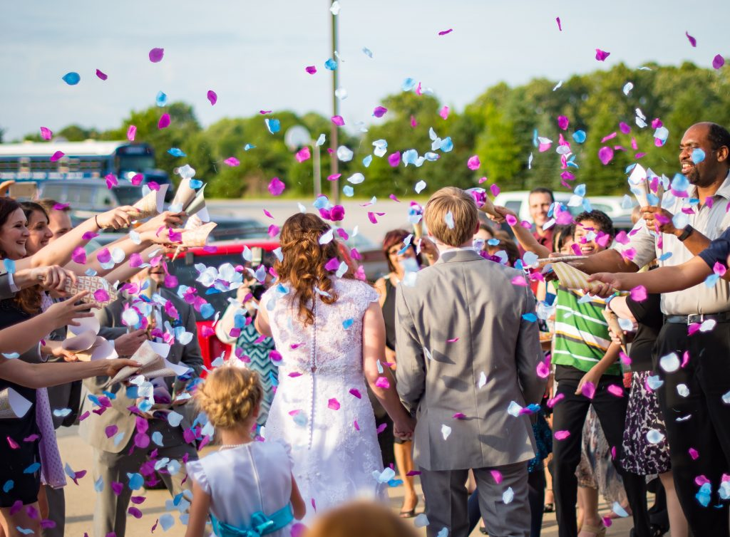 Wedding confetti origin