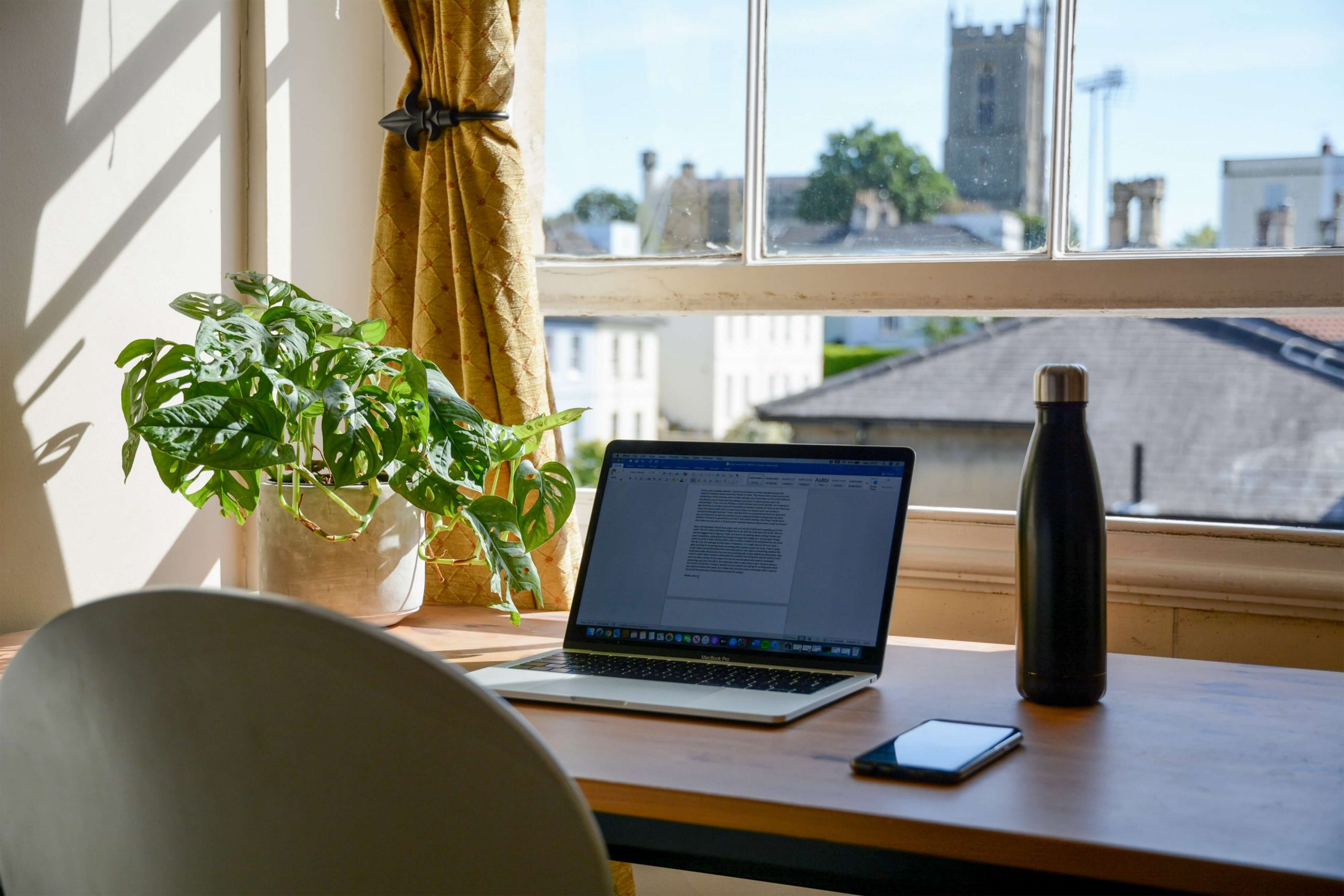 benefits of a virtual office working from home set up