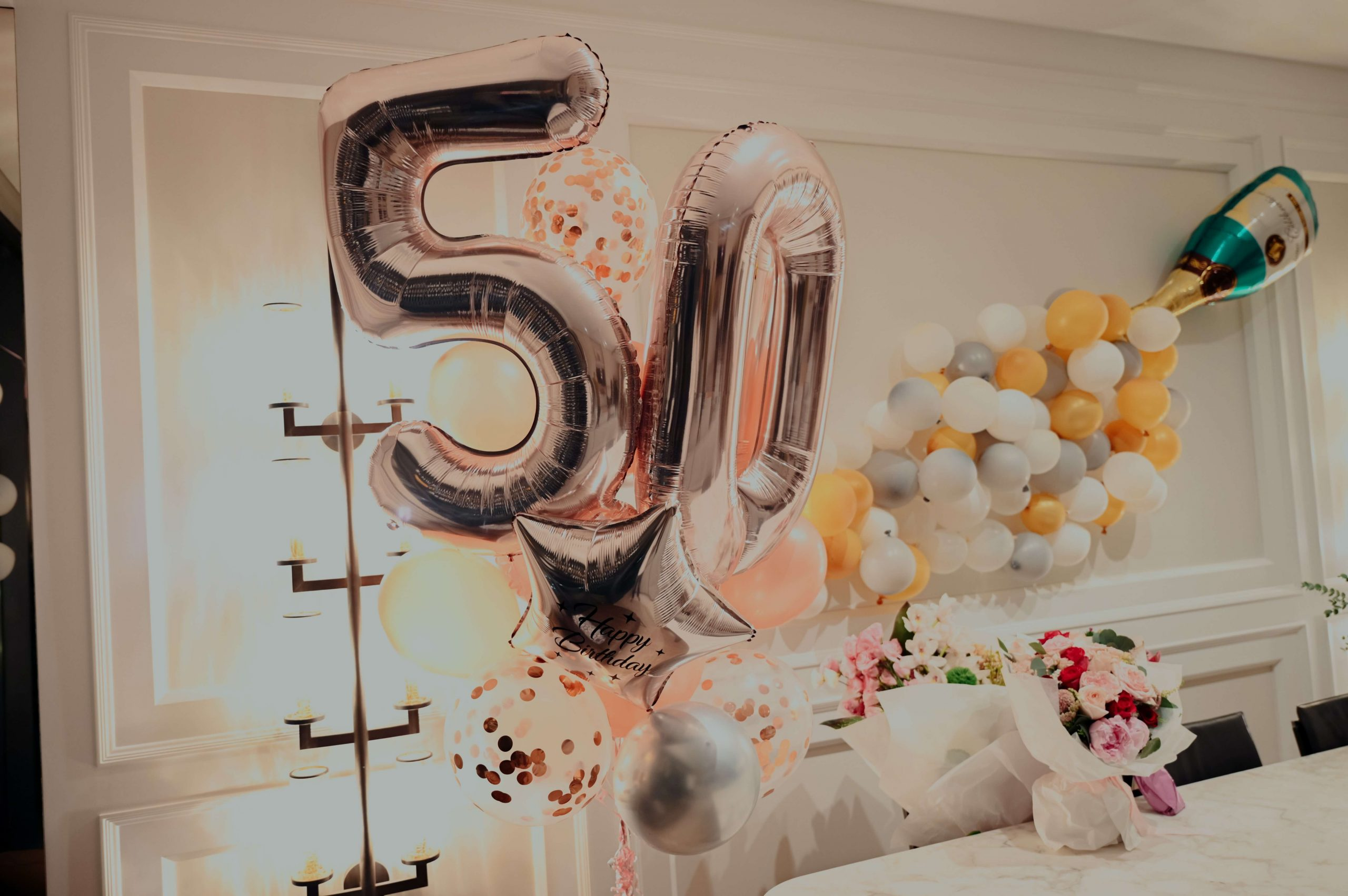 How to Celebrate a 50th Birthday Without a Party feature image
